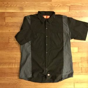 Dickies Color Blocked work Shirt
